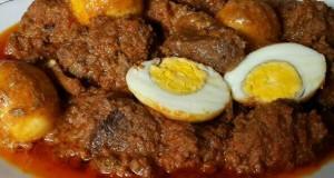 Resep memasak rendang telur puyuh