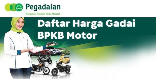 Gadai BPKB Motor di Pegadaian apakah motor di tahan?