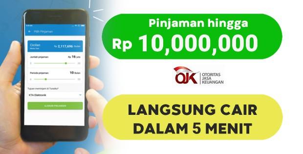 Pinjaman online langsung cair tanpa ribet dalam hitungan menit